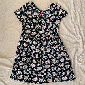 H&M Crinkle Floral Dress- ASO Teen Wolf
